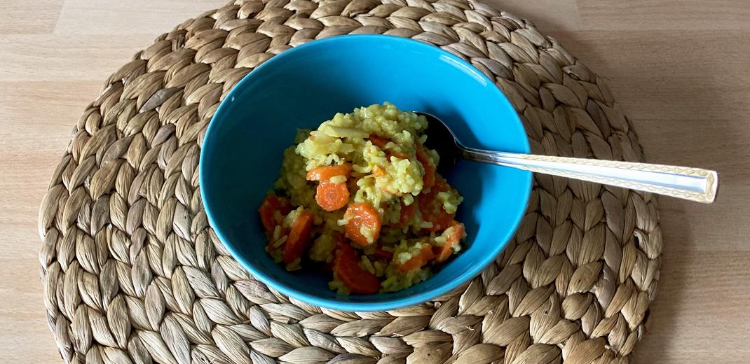 Detox-Gemüse mit Reis