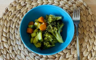 Warmer Gemüsesalat